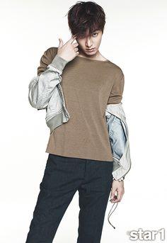 Lee Min Ho - @ Star1 Magazine April Issue '14