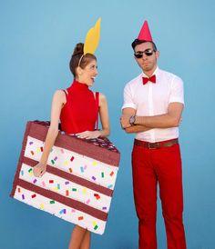 Torten Kostüm selbst gemacht: Als Kuchen verkleiden