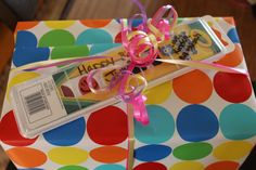 Use watercolors instead of card. Write name/message with sharpie.