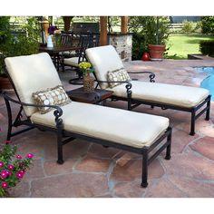 Meridian 3-piece Patio Chaise Lounge Set ......$1,199.00