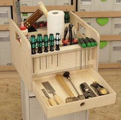 Workshop Storage, Shed Storage, Tool Storage, Garage Storage, Wood Tool Box, Wood Tools, Festool Systainer, Tool Tote, Antique Tools
