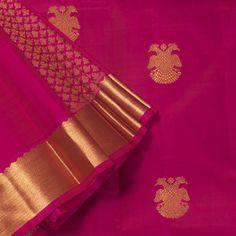 Kanakavalli Handwoven Kanjivaram Silk Sari 1008034 - Sari / Bridal - Parisera