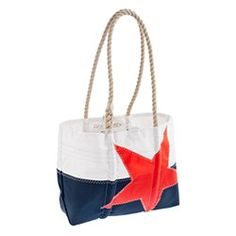 JCrew sea bag tote