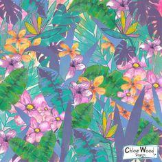 Chloe Wood Design Blog: Blog Hop 2014 Tropical Fusion