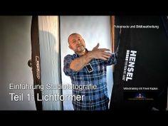 ▶ Einführung Studiofotografie. Teil 1: Lichtformer - YouTube