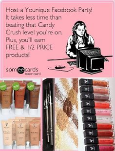 We have these products and so much more. Check out all the great beauty and skincare products we have for you. Why not get them for free! Visit me today at www.youniqueproducts.com/kimcando