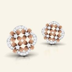 Ginny diamond earring