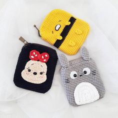 oh They're card pouch .will be available soon at my shop.#cardpouch#crochet#pouch #amigurumi#totoro#gudetama #crocheting#crocheteveryday #crochetoninstagram #handmade#purse#craft#craftlover