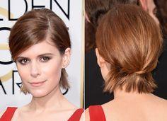 10 penteados para fazer com o corte bob, por Kate Mara | Chic - Gloria Kalil: Moda, Beleza, Cultura e Comportamento