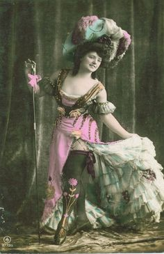 risque dancer (by Deirdre Montague)  More  		  		  		vintage hats