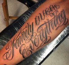 Chicano Lettering More tattoo mann vorlagen skull Forarm Tattoos, Chicano Tattoos, Name Tattoos, Body Art Tattoos, Sleeve Tattoos, Tatoos, Gangster Tattoos, Tattoo Lettering Design, Chicano Lettering
