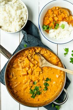 Butter Chicken, Butternut Squash, Foodies, Curry, Snacks, Ethnic Recipes, Desserts, Drinks, Cilantro