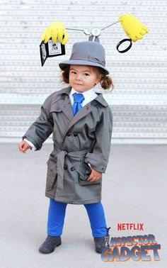 You Must See Willow's All-New Collection of Adorable Halloween Costumes- The little girl who won Halloween last year with her incredible get-ups has done it again. Gain some DIY costume inspiration from her inspector gadget ensemble. Check out all of her clever, totally original Halloween costumes at redbookmag.com.