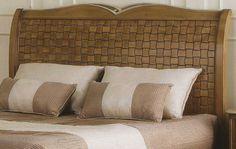 Cabezal md.11713 cerezo (trenzado) para colchón de 1.50 Medida: 1.57 L x  0.21 F  x 1.28 h.