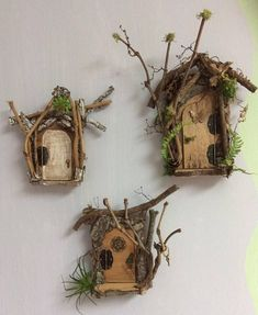 Opening Fairy Door ~ Enchanting Fairy Door by Olive ~ Swarovski Crystal Door Knob with Tiny Key. Each One of A Kind! This listing is for Fairy Door Only* Find Olive Nature Folklore under the following search terms: fairy garden kit miniatures for fairy gardens fairy garden #miniaturefairygardens