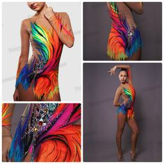 Rhythmic Gymnastics leotard by Danceplus