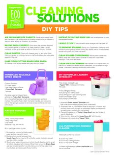 Cool cleaning tips and tricks with Tupperware.