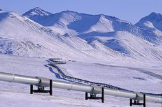 Alaska | Alaska Pipeline In Winter I Alaska Travel Photos
