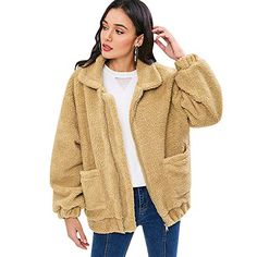 eujwtunxm 2019 Womens Autumn Winter Coats Womens Solid Color Hooded Button Up Loose Long Cloak Shawl Cape Coat Jacket