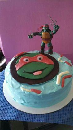 RaphaelNinja Turtle cake Creating Awesomenessity Pinterest
