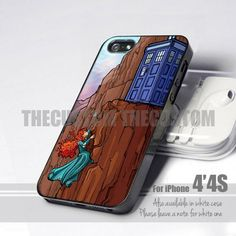 Doctor Who Visits the Disney Universe 4 Design for iPhone 4 or 4s Case