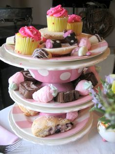 Tea Party Serving Trays
