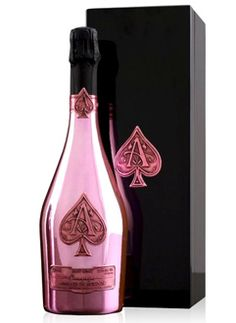 Champagne Armand de Brignac Rose is a blend of sparkling white wine and still Pinot Noir. How about this on New Year's Eve?