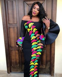 """448 Likes, 40 Comments - @nossydominic on Instagram: """" dress by @nkay_inspirationz """""""