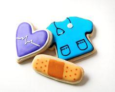 Nurse Appreciation Sugar Cookies.