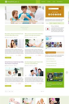 IT HealthCare 2, a cutting-edge Joomla Theme focused on the white space and finesse. Let your website visitors enjoy the awesome browsing experience that brings this Premium Joomla Theme. Have a look at the Demo: http://demo.icetheme.com/?template=it_healthcare2