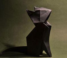 un chat en origami (Gonzalo) (2)                                                                                                                                                                                 More