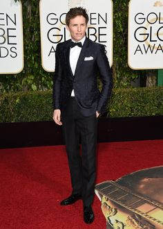 The 11 Best Dressed Men at the Golden Globes. January 2016.
