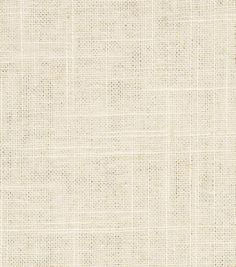 Robert Allen @ Home Upholstery Fabric-Linen Duck Ivory