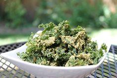Zesty Dill Pickle Kale Chips