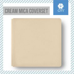 Handcrafted using high-quality, photo-safe materials. It's a classic - the Creative Memories Spring Cream Mica Coverset. See all available colors here:  http://ss1.us/a/n34RNSja #CreativeMemories #Scrapbooking