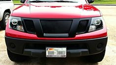 Retrofitted headlights 2010 Nissan Frontier