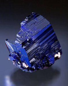 Azurite from Tsumeb Mine, Tsumeb, Namibia