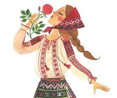 The art work of Romanian artist Oana Befort. Character Illustration, Illustration Art, Character Art, Character Design, Guache, Cartoon Art, Cute Drawings, Art Girl, Flower Art