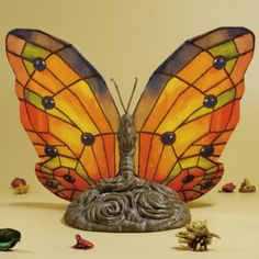 Tiffany Butterfly Lamp 3D model, Toolmoon