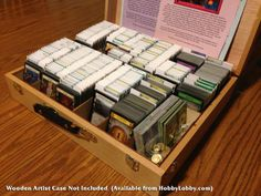 The Broken Token - Dominion Organizer for Wooden Artist Case, $19.99 (http://www.thebrokentoken.com/dominion-organizer-for-wooden-artist-case/)
