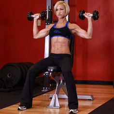 Here's how Ashley Hoffmann trains to build muscle and strength for a fantastic physique!