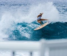 Bethany Hamilton having some fun perfecting her passion! #RipCurl
