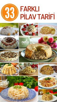 Farklı Pilav Çeşitleri – Hepsi Denenmiş En Beğenilen Tarifler – Nefis Yemek Tarifleri How about crowning your main meals with different rice varieties? Rice pilaf varieties with meat, vegetables, bulgur pilaf, domestic pilaf varieties are on this list! Appetizer Recipes, Appetizers, Turkish Kitchen, Warm Kitchen, Iftar, Turkish Recipes, Homemade Beauty Products, Main Meals, Bon Appetit