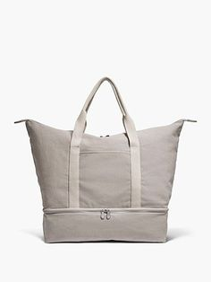 the catalina canvas tote weekender travel bag lo sons