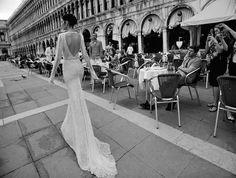 Inbal Dror | Luxe venetian wedding dress ... ◆