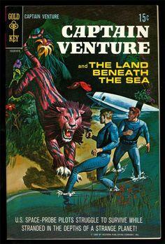CAPTAIN VENTURE #1  1968 GOLD KEY SCIENCE FICTION