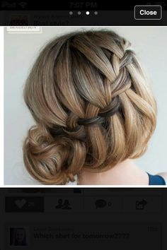 Cute Prom hair dues quick easy