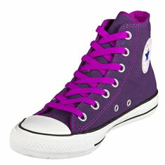 Shop Converse Chuck Taylor Hi Top Purple Shoes (540248C) at GetShoes.ca leading converse retail outlet in Canada offers wide collection of Converse Shoes and sneakers for men's, women's and Kids with free shipping and returns policy!