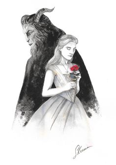 Beauty and the Beast Fan Art. Scott Keenan, 2017