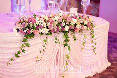 aranjament masa de prezidiu nunta